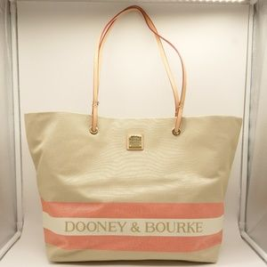 NWT DOONEY & BOURKE Large Addison Canvas Tote
